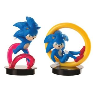 Sonic The Hedgehog Cinema Movie Figure Cup Topper Cup Ebay