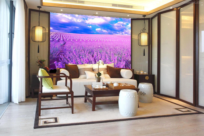 3D Lavendelhimmel 577 Tapete Tapeten Mauer Foto Familie Tapete Wandgemälde DE