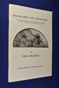 MACQUARIE-039-S-TEN-GENTLEMEN-Edna-Hickson-LACHLAN-MACQUARIE-BLUE-MOUNTAINS-CROSSING
