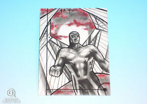 2013-Fleer-Marvel-Retro-Archangel-Sketch-Card-Israel-Arteaga-X-Men-Original-1-1