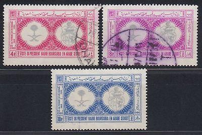 Saudi Arabia 1965 Mi.199/01 Ksa Habib Ben Ali Bourguiba Tunesien g1296 Briefmarken