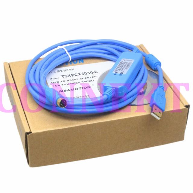 TSXPCX3030-C cable for all Schneider TSX Neza Twido Micro Premium M340 Nano HMI