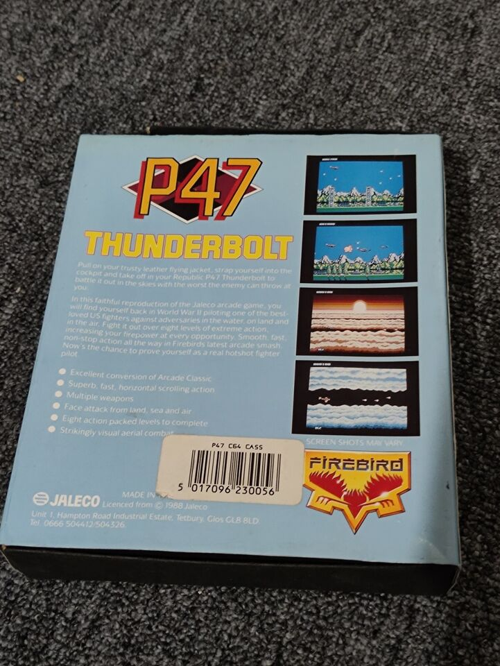 P47 Thunderbolt, Commodore 64