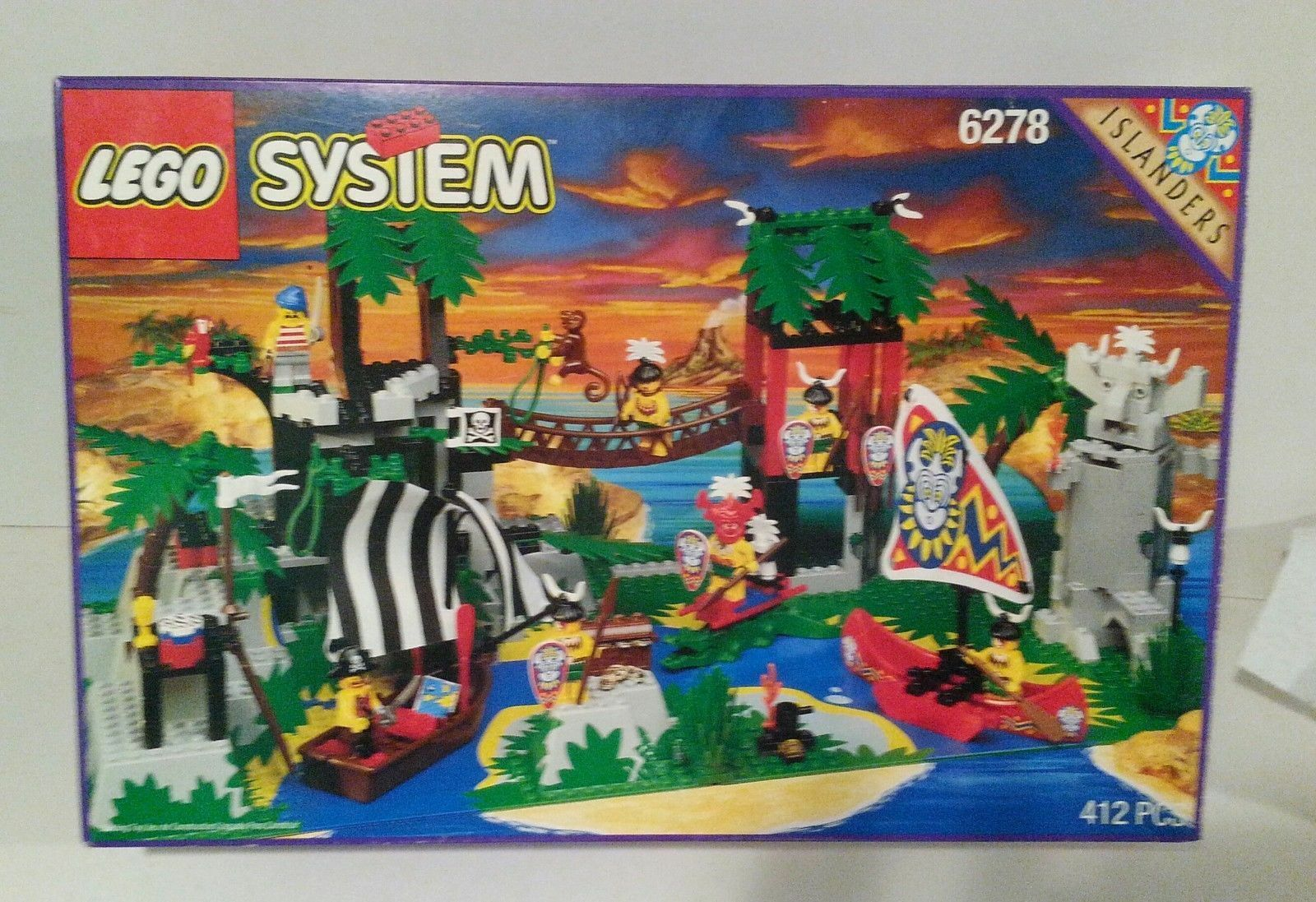 Lego Pirates 6278 Enchanted Island New Sealed VHTF