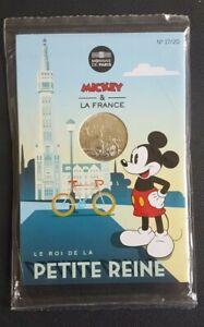 FRANCE - FRANCIA - COFFRET MONNAIE DE PARIS 10 EURO MICKEY ROI DE LA REINE 2018.