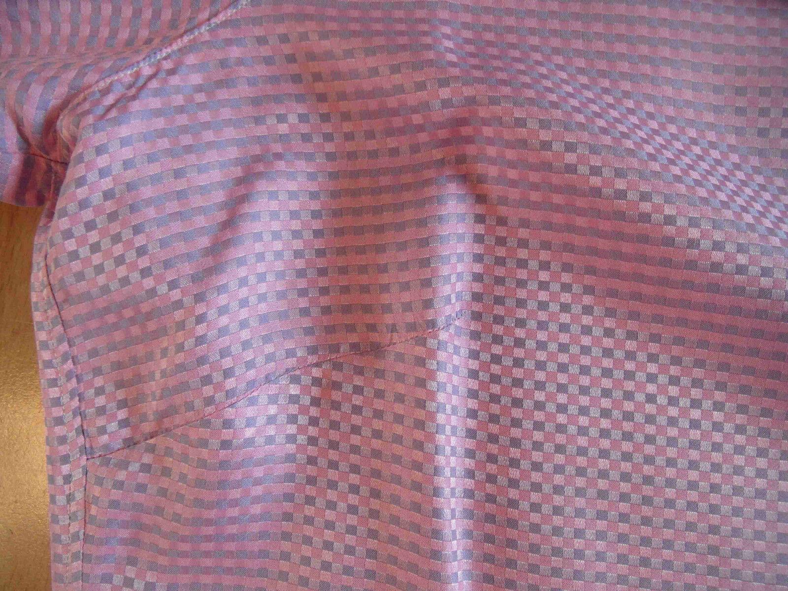 Designer di alta qualità-Camicia Seta rosa Taglia M bsu1215 Merce Merce Merce Nuova ed19f5