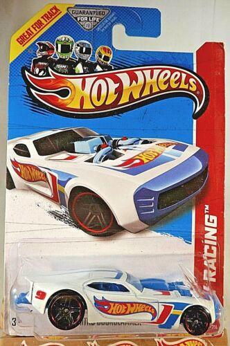 2013 Hot Wheels #103 HW Racing HW Race Team NITRO DOORSLAMMER White Variation