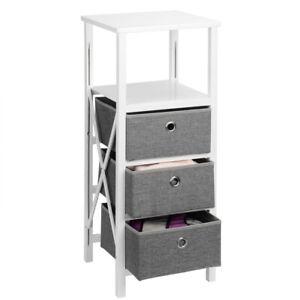 Sortwise-Storage-Organizer-Drawer-Tower-Dresser-Unit-with-3-Removable-Bins