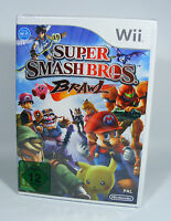 SUPER SMASH BROS BRAWL für Nintendo Wii NEU in Folie EU-Version brothers ssbb