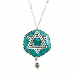 Silpada-039-Mazel-Tov-039-Multi-Stone-Star-of-David-Pendant-in-Silver-18-034-2-034