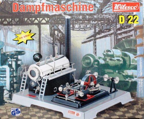 D 22 Wilesco 00022 Dampfmaschine