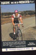 PATRICK THEVENARD cyclisme Signée MIKO MERCIER 70s autographe cycling ciclismo