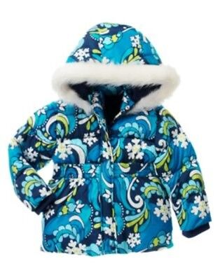 GYMBOREE SNOWFLAKE SHIMMER BLUE SNOWFLAKE SWIRL SKORT 5 6 7 8 9 10 NWT
