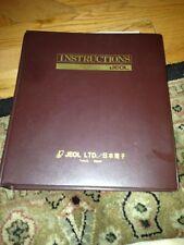 Jeol Jem 100cs Scanning Electron Microscope Instruction Manual Iem100cx 3
