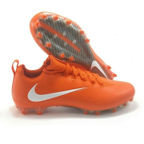 47ad77ba86b2 Nike Vapor Untouchable Pro CF Football Cleats Men's Size 12.5 Orange  922898-818