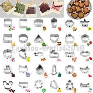 Corazon-Star-Pastel-Galletas-Cookies-Reposteria-Decoracion-Cortador-herramienta-30-Estilo-A-Elegir