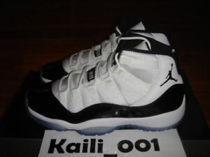 Details about Nike Air Jordan 11 Retro (GS) Concord Cool Grey Space Jam A ad27e768d0f8
