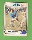 1976 NEWTOWN JETS SCANLENS RUGBY LEAGUE CARD #117 GARY SULLIVAN