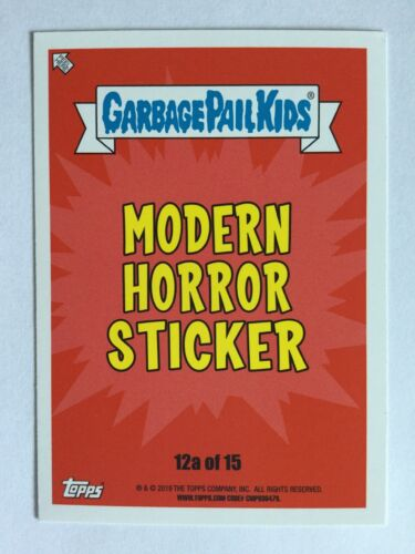 Garbage Pail Kids Sticker Revenge Of Oh The Horror-Ible 12a Nina Nun