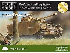 WW2V15002 -15MM GERMAN PANZER IV- PLASTIC SOLDIER COMPANY WW2