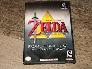 The Legend of Zelda Collector's Edition Nintendo Gamecube w/Case Authentic