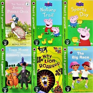Read-it-Yourself-with-Ladybird-Level-2-16-Books-Collection-Brand-New
