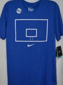 10b54de9 AUTHENTIC NIKE AIR DRY HOOP ARROW ROYAL T SHIRT 871716-480 | eBay