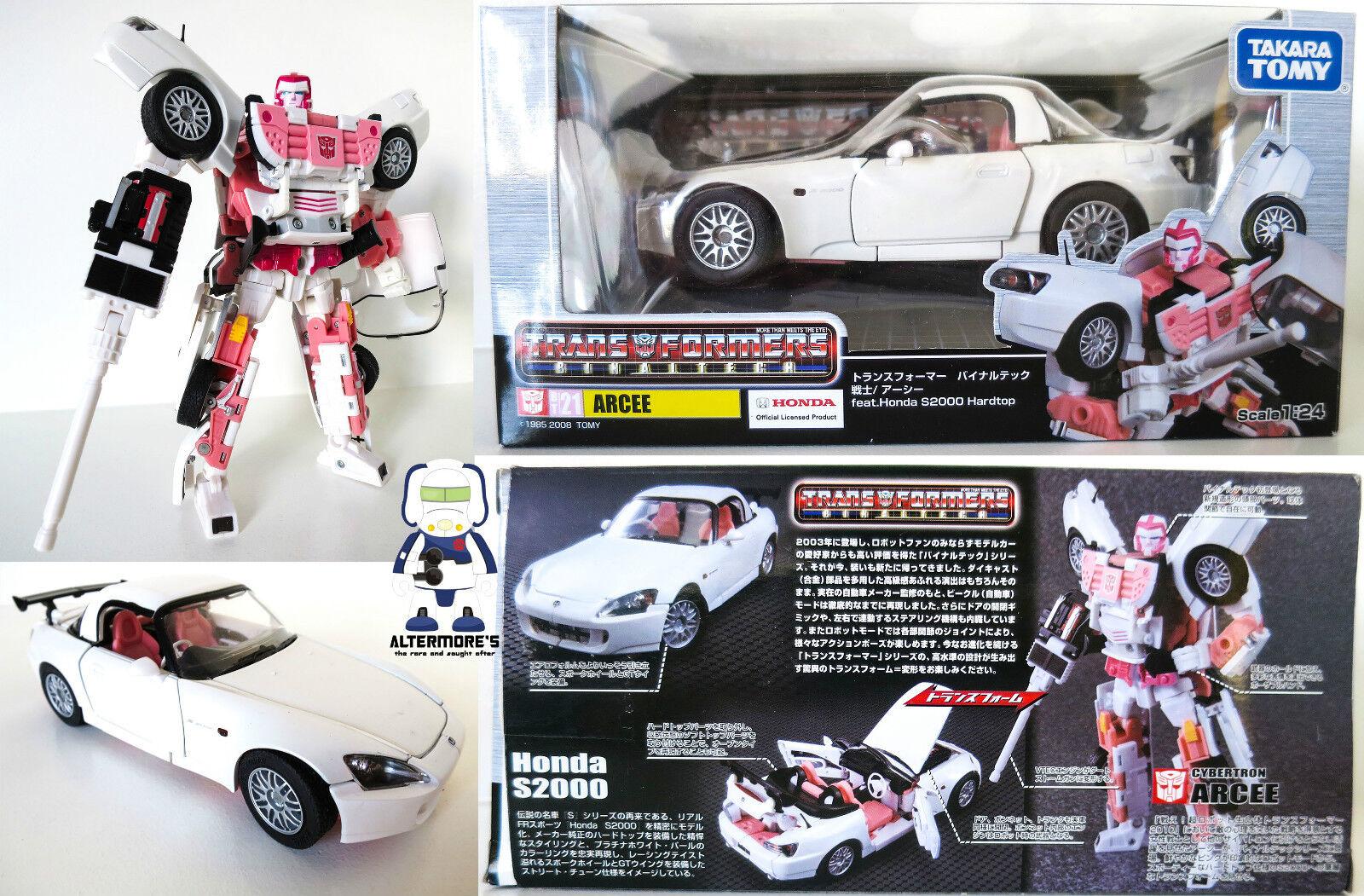 Transformers Takara BT 21 Bintaltech Arcee Honda S2000 MIB Sold as seen