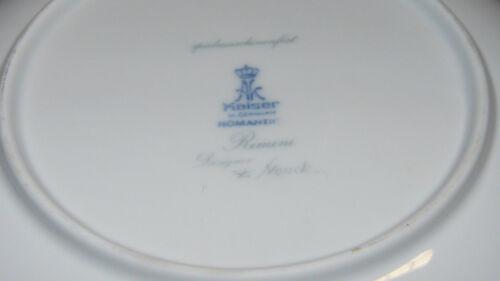 Kaiser Alka AK Romantica Romantika Rimini grün Dessertteller Teller 20 cm