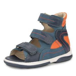 Memo MONACO Boys/' Corrective Orthopedic Ankle Support Sandals Toddler//Little Kid