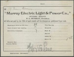 1900s-Monticello-Thompson-New-York-Murray-Electric-Light-amp-Power-Co-Billhead
