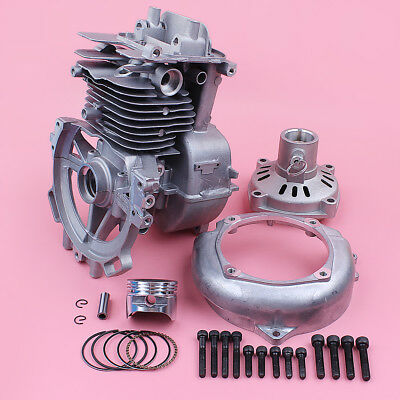 39mm Cylinder Piston+Spark Plug Kit For Honda GX35 GX35NT Lawn Mower Part