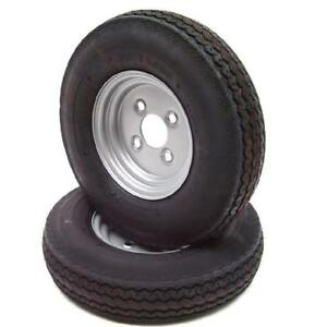 1 Stück Komplettrad 4.80 / 4.00-8 62M 8-Zoll Anhänger Rad Reifen Felge komplett