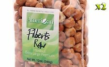24oz Gourmet Style Bags of ExtraLarge Premium Raw Filberts/Hazelnuts [1 1/2 lbs]