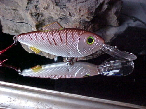 "Mann/'s 8/"" Stretch Imitator Junior Cast//Troll Big Gamefish Lure SPI6-3 in CROAKER"