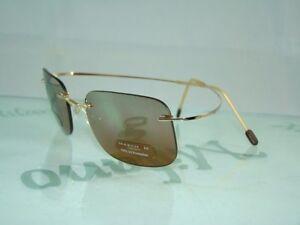 CLEARANCE MARCHON TITANIUM AIRLOCK 700 501 GOLD RIMLESS SUNGLASSES Eyeglasses 52