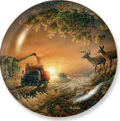 Harvest Blessings Collector Plate by Terry Redlin