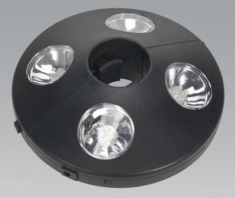 Sealey GL59 Parasol Lamp 16 Led Light Lighting Garden Shed Garage Outdoor