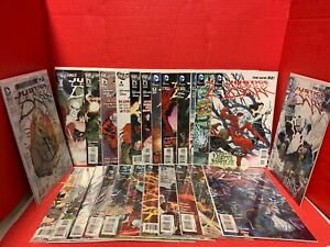 Lot-Of-25-Justice-League-Dark-0-23-1-Annual-DC-Comic-Lemire-Deadman-Vampires