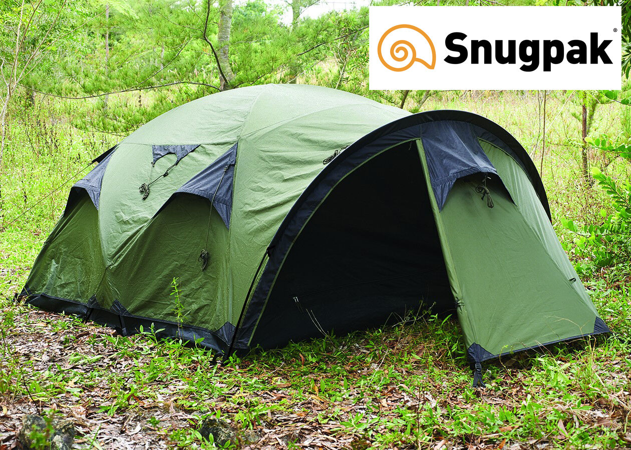 Snugpak THE CAVE High Quality, Spacious e divertiuominitoctional 4 Person Base Camp Tent
