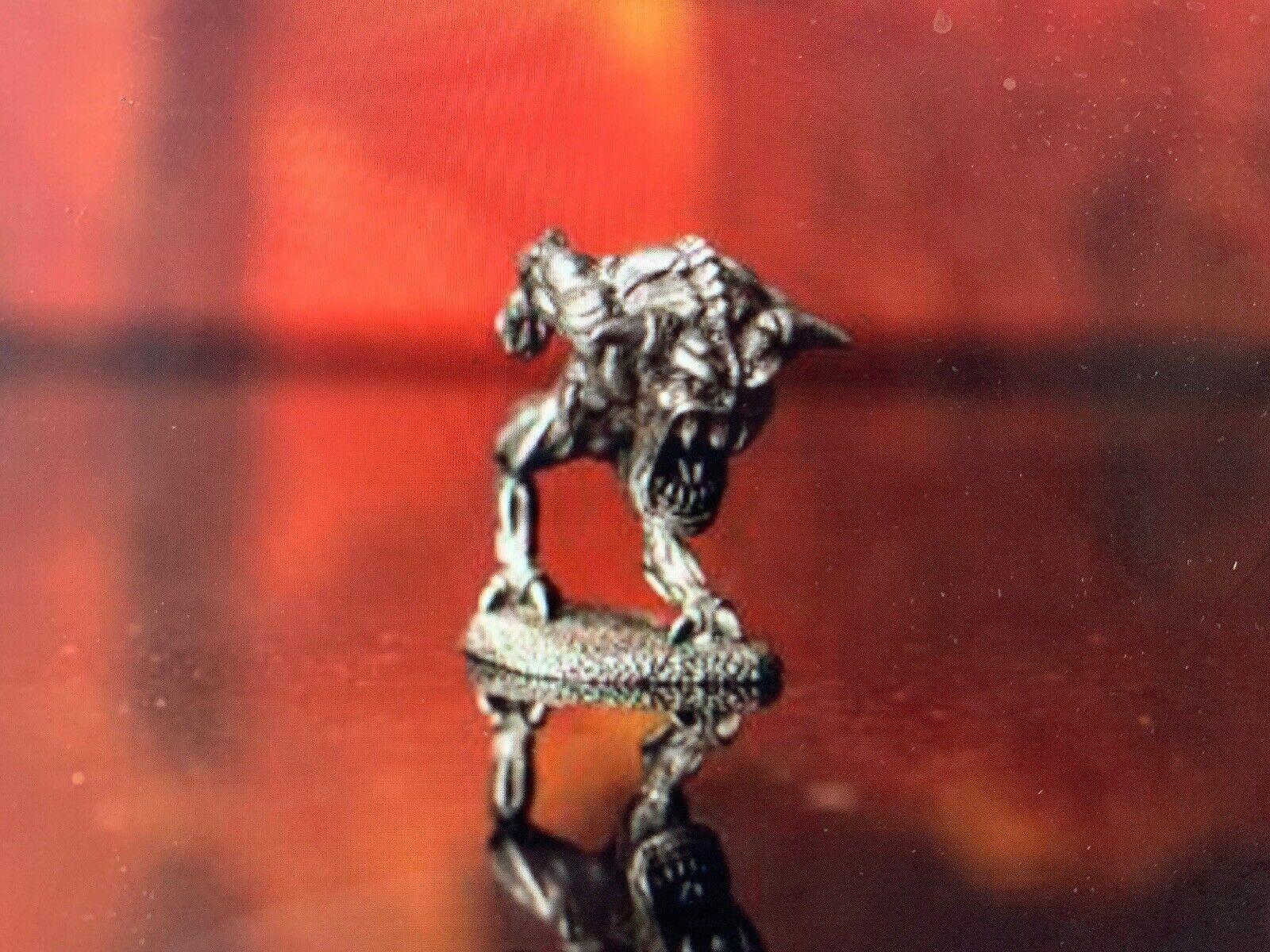 Doom Reaper Pinky Demon Miniature Lead Free Pewter Figure LOOSE - NEW Bethesda