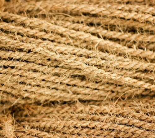 Coconut Rope 50yds Husk Cord Twine Pet Scratch Parrot Toy Home Decor Coco Fiber