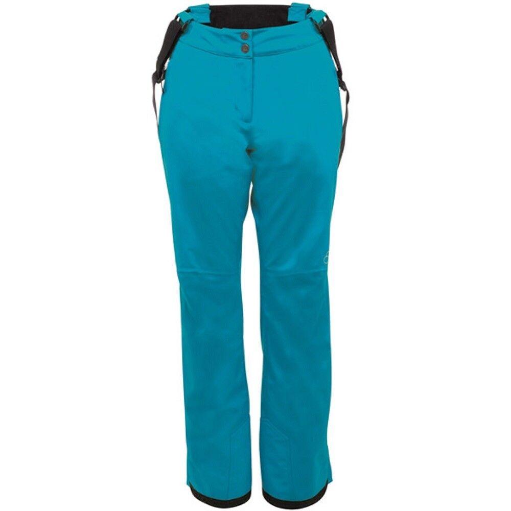 DARE 2B STAND FOR SKI PANT SALOPETTES 10,000 RATING SLIM LEG blueE SIZE 10