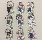 Anime Axis Powers Hetalia APH Cute Acrylic Pendant Keychain Keyring 9pcs/set