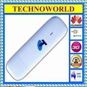 UNLOCKED-TELSTRA-HUAWEI-E353T-3G-USB-MOBILE-BROADBAND-MODEM-NEXT-G-ANTENNA-SLOT