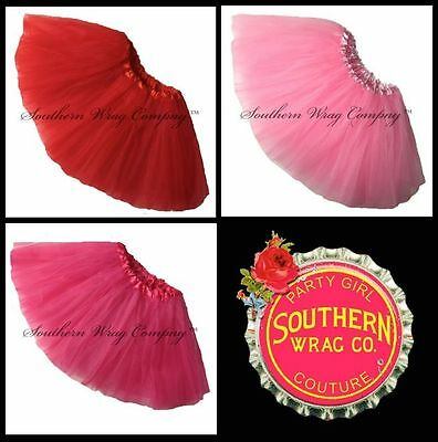 VALENTINES DAY TUTU GIRLS PLUS SIZE WAIST 20-44 LENGTH 11 by Southern Wrag Comp™