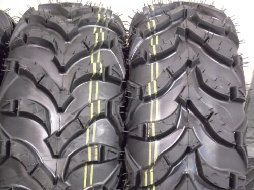 22x7-11  22x10-9  QUADKING 6PLY SET 4 TIRES 2001 Honda Recon 250 ATV TIRES