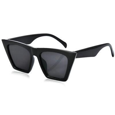 Vintage Retro Women Cat Eye Sunglasses Fashion Shades Oversized Glasses 2018 New