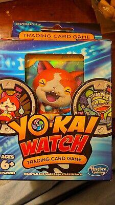 Yokai Watch Trading Card Game Jibanyan And Walkappa Starter 40 Cards 2 Medals 630509490233 Ebay