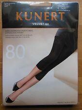 KUNERT Velvet 80 Capri Leggings blickdicht matt samtweiche Schönheit  Gr40-42